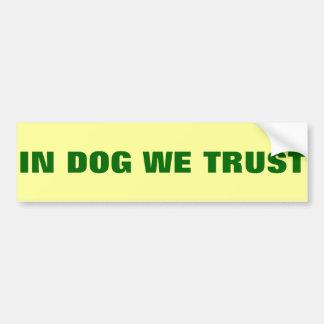 Trust Bumper Sticker