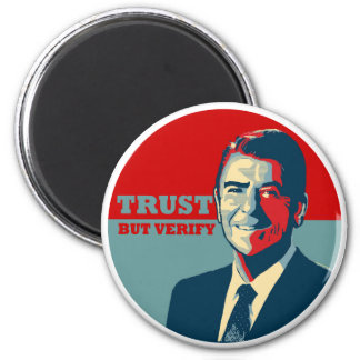 TRUST BUT VERIFY 10X10 2 INCH ROUND MAGNET