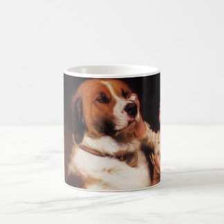 Trust by Charles Burton Barber, Saint Bernard dog Coffee Mug