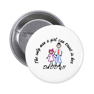 Trust Daddy 2 Inch Round Button