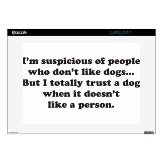 Trust Dogs Laptop Decal