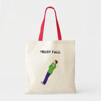 Trust Fall - Tote Bag