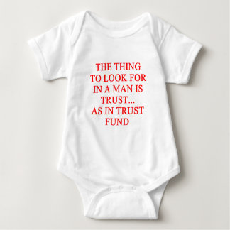 TRUST fund gold digger joke Tshirts