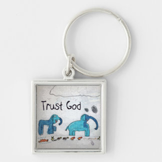 Trust God Gifts & Greetings Keychain