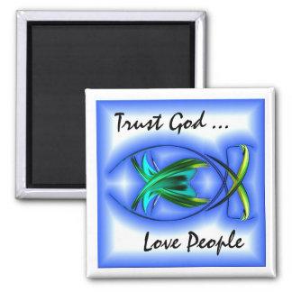 Trust God Magnet