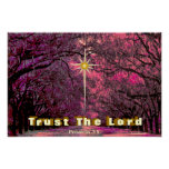 Trust God's Love Spring Encouragement Message Poster