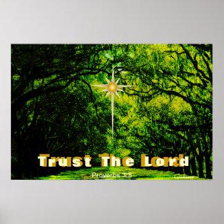 Trust God's Love Summer Encouragement Poster