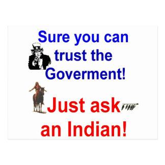 trust goverment shirt-1 postcard