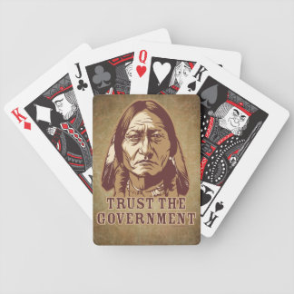 Trust Government Playing Cards