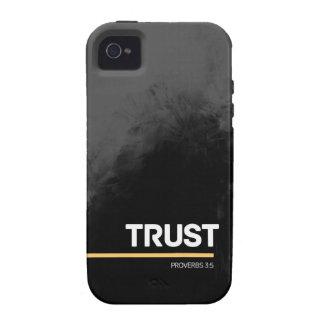 Trust - Grey Design iPhone 4 4S Case iPhone 4/4S Case