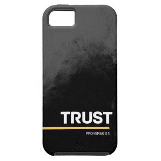 Trust - Grey Design iPhone 5 Case