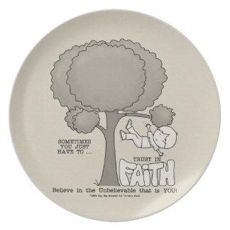 Trust in Faith Plate