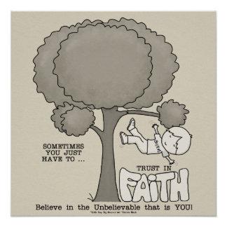 Trust in Faith Poster
