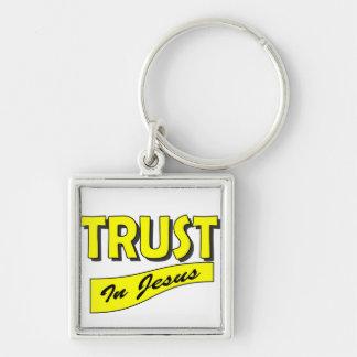 Trust in Jesus Keychain
