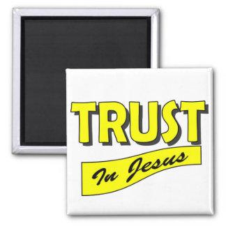 Trust in Jesus Magnet