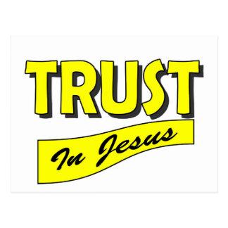 Trust in Jesus Postcard