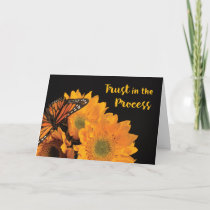 Trust in Process 12 Step Recovery Anniversary Card