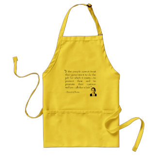 Trust in the government, Barack Obama Adult Apron