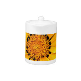 Trust in the Lord Bright Yellow Flower Teapot