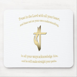 Trust in the Lord gifts Mouse Pad