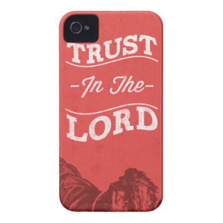 Trust In The Lord iPhone 4 Case-Mate Cases