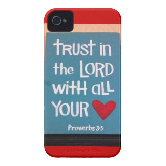 Trust in the Lord iPhone 4 Cover