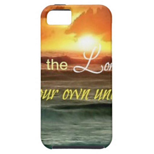 Trust in the Lord iPhone 5 Covers