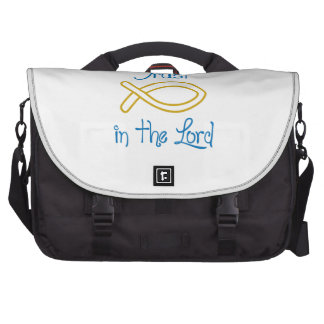 Trust in the lord laptop computer bag
