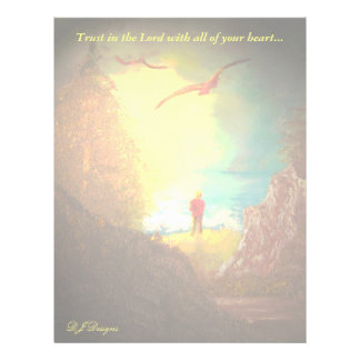 Trust in the Lord Letterhead