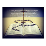 Trust in the Lord Message Postcard