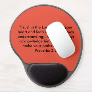 """Trust in the Lord"" Motivational Gel MousePad"