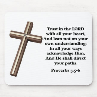 Trust in the Lord Mouse Pad