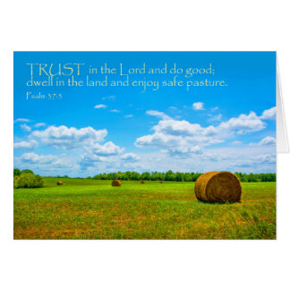 Trust in the Lord note card