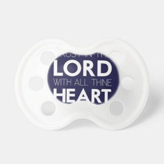 Trust in the Lord BooginHead Pacifier