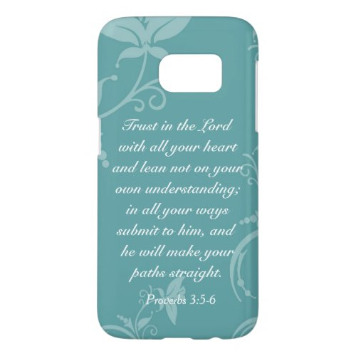 Trust in the Lord (Proverbs 3:5-6) Phone Case