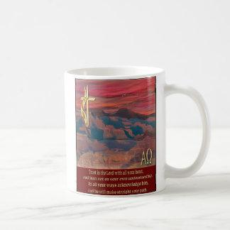 Trust in the Lord proverbs 3:5-6 mug