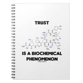 Trust Is A Biochemical Phenomenon (Oxytocin) Notebook