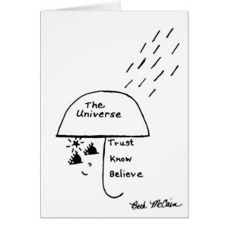 Trust, Know, Believe Card