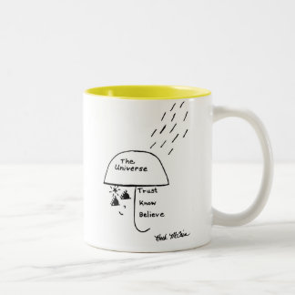 'Trust, Know, Believe' Mug