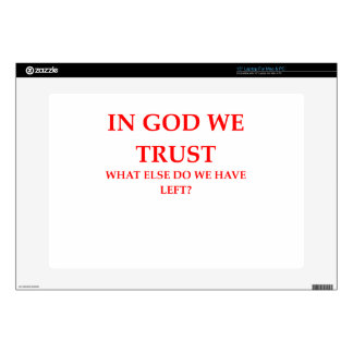 TRUST LAPTOP SKIN