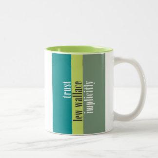 """Trust Lew Wallace Implicitly"" Coffee Mug"