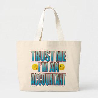 Trust Me Accountant Life B Large Tote Bag