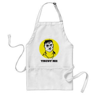 Trust me adult apron