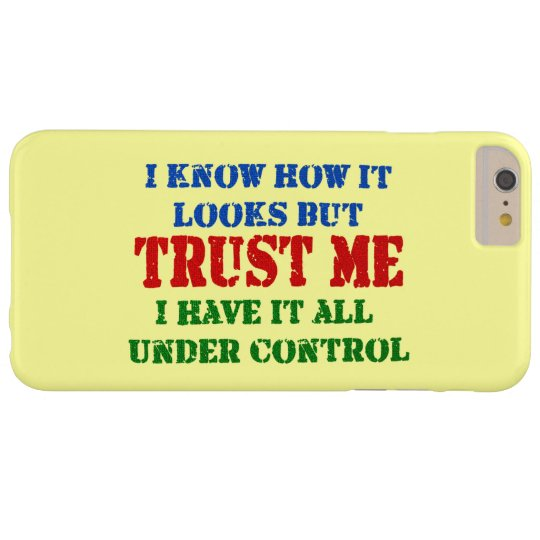 Trust Me -- All Under Control Blackberry Bold Cover
