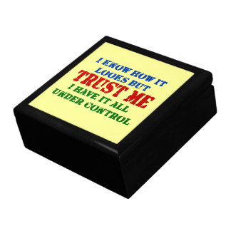 Trust Me -- All Under Control Gift Box
