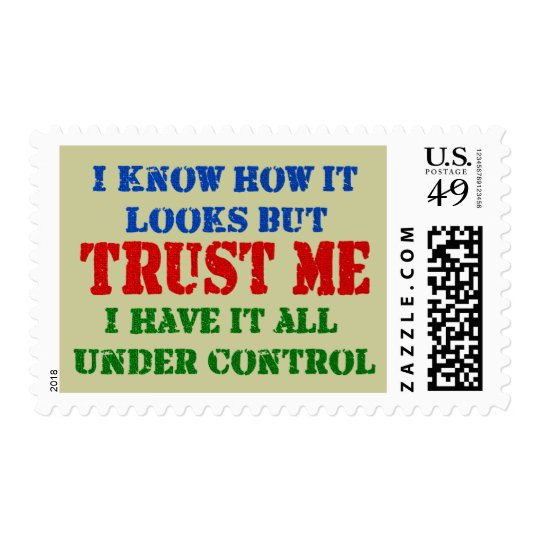Trust Me - All Under Control Postage