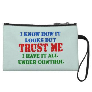 Trust Me -- All Under Control Wristlet
