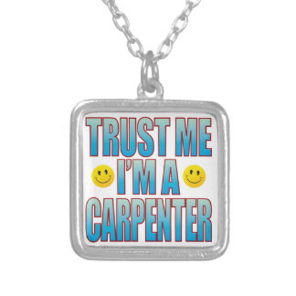 Trust Me Carpenter Life B Silver Plated Necklace