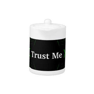 Trust Me Design White on Black