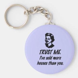 Trust Me - female Keychain